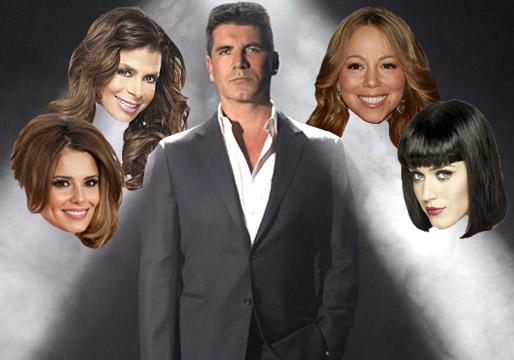 Female judges factor x Cheryl