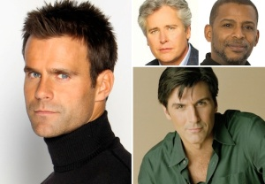 ALL MY CHILDREN's Cameron Mathison, Michael E. Knight, Darnell Williams and Vincent Irizarry