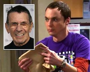 Leonard Nimoy The Big Bang Theory