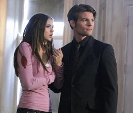 The Vampire Diaries Nina Dobrev and Daniel Gillies