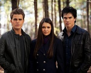 Vampire Diaries Paul Wesley Nina Dobrev Ian Somerhalder