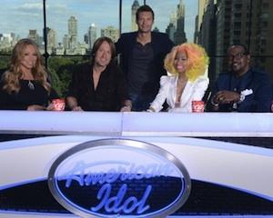 Keith Urban Nicki Minaj American Idol
