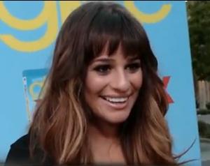 Glee Lea Michele Season 4 Interview