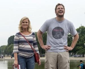Parks and Recreation Amy Poehler Chris Pratt Season 5
