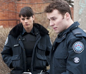 Rookie Blue Missy Peregrym Peter Mooney
