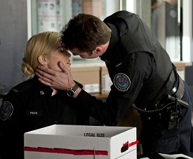 Rookie Blue Charlotte Sullivan Peter Mooney