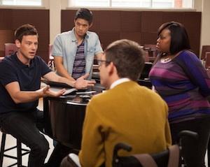 Glee Season 4 Mike Mercedes Return