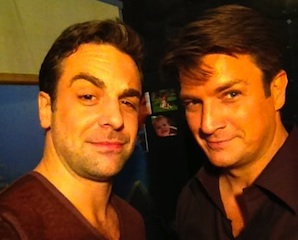 Chris McKenna Nathan Fillion Castle