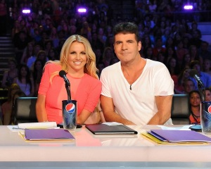 simon cowell britney spears x factor