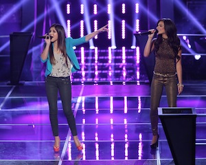 kayla nevarez alessandra guercio the voice