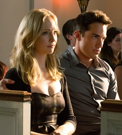 Vampire Diaries Candice Accola Michael Trevino