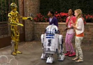 Star Wars on Disney's ANT Farm