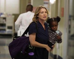 Grey's Anatomy Season 9 Meredith Pregnant