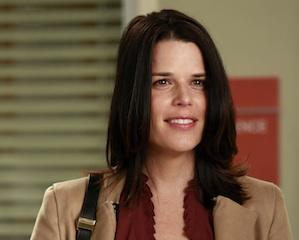 Grey's Anatomy Neve Campbell Season 9 Derek's Sister