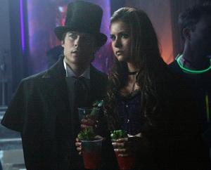 Vampire Diaries Ian Somerhalder Nina Dobrev