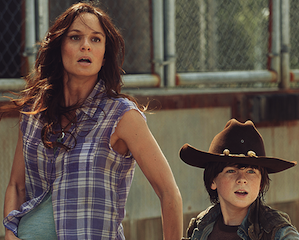 The Walking Dead Season 3 Lori and Carl