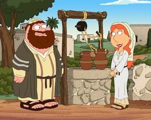 Ryan Reynolds God Family Guy