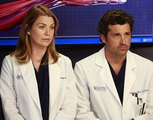 Grey's Anatomy Season 9 Derek and Meredith