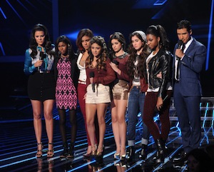 x factor top 6 results