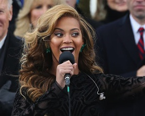 Beyonce Lip Sync National Anthem