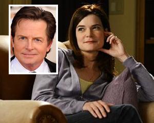 Betsy Brandt Michael J. Fox NBC Comedy