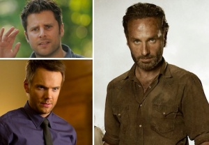 Walking Dead, Community, Psych