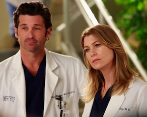 Grey's Anatomy Season 9 Derek and Meredith