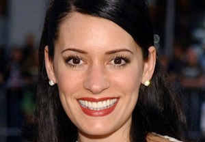 Paget Brewster Down Dog