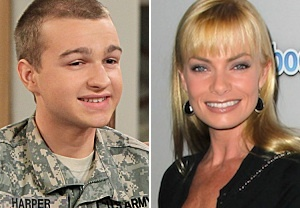 Two and a Half Men Casts Jaime Pressly