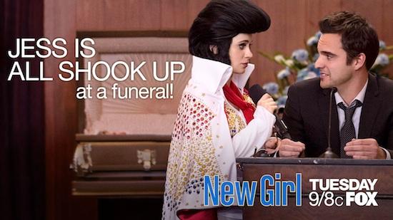 New Girl Season 2 Jess Elvis