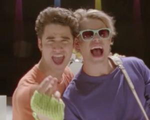 Glee Season 3 Sam Blaine Wake Me Up Before You Go-Go