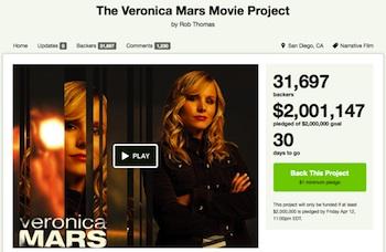 Veronica Mars Movie Gets Fundraising
