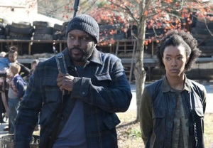 The Walking Dead Chad Coleman Sonequa Martin-Green