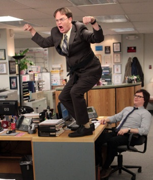 The Office Dwight Promoted