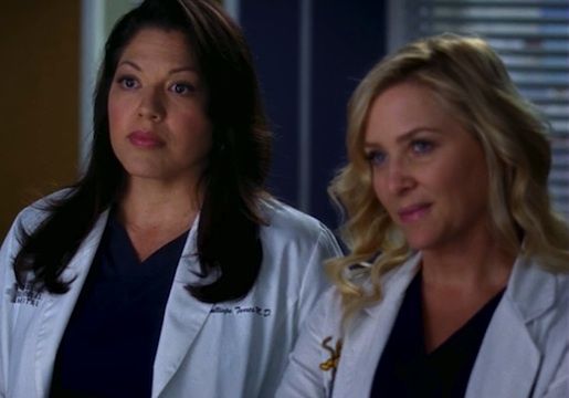 Greys Anatomy Season 9 Calzona Twist