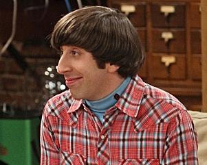 Simon Helberg The Big Bang Theory Performer of the Week