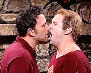 Saturday-Night-Live-Ben-Affleck-Gay-Kiss