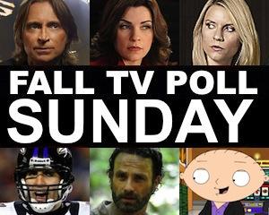 Fall TV Schedule 2013 Sunday