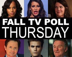 Fall TV Schedule 2013 Thursday