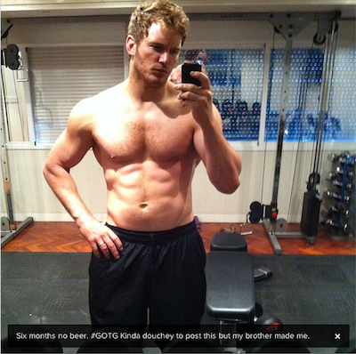 Chris Pratt Parks and Recreation Abs