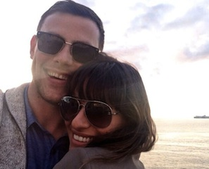 Lea Michele Tweets Cory Monteith Death