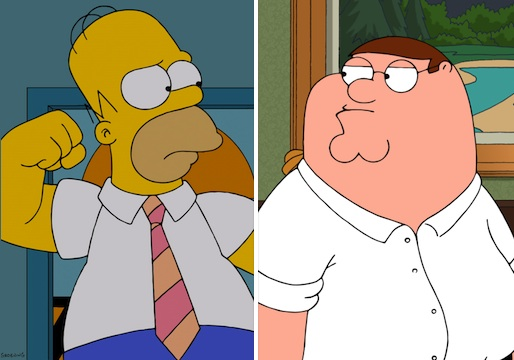 Family Guy Simpsons Episode