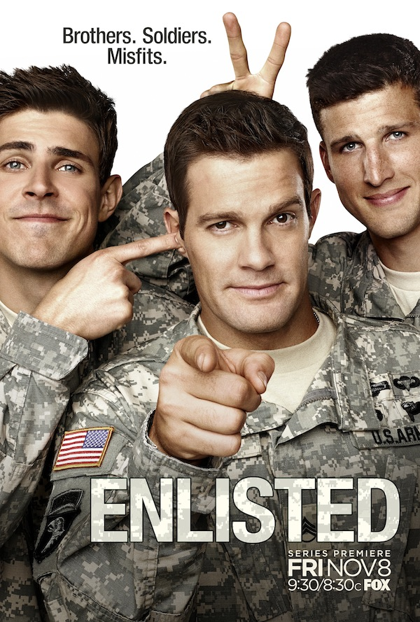 Enlisted Season 1 Poster
