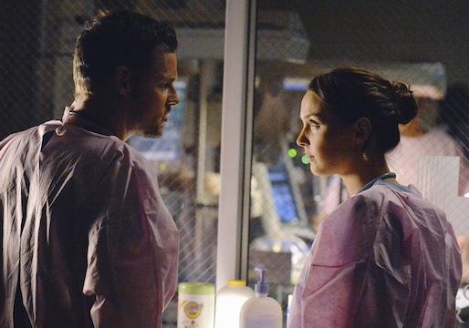 Grey's Anatomy Season 10 Jo Alex