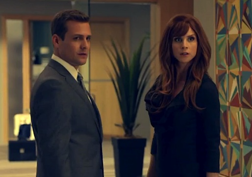 Suits Harvey Donna Flashback