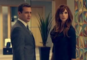 Suits Harvey Donna Flashback