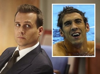 Suits Cast Michael Phelps Olympian