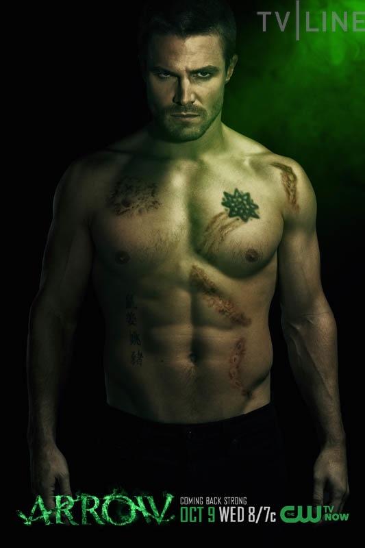 Arrow Season 2 Poster Amell