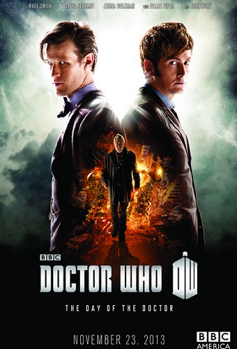 Doctor Who Poster Matt Smith David Tennant