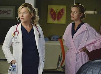 Grey's Anatomy Arizona Lauren